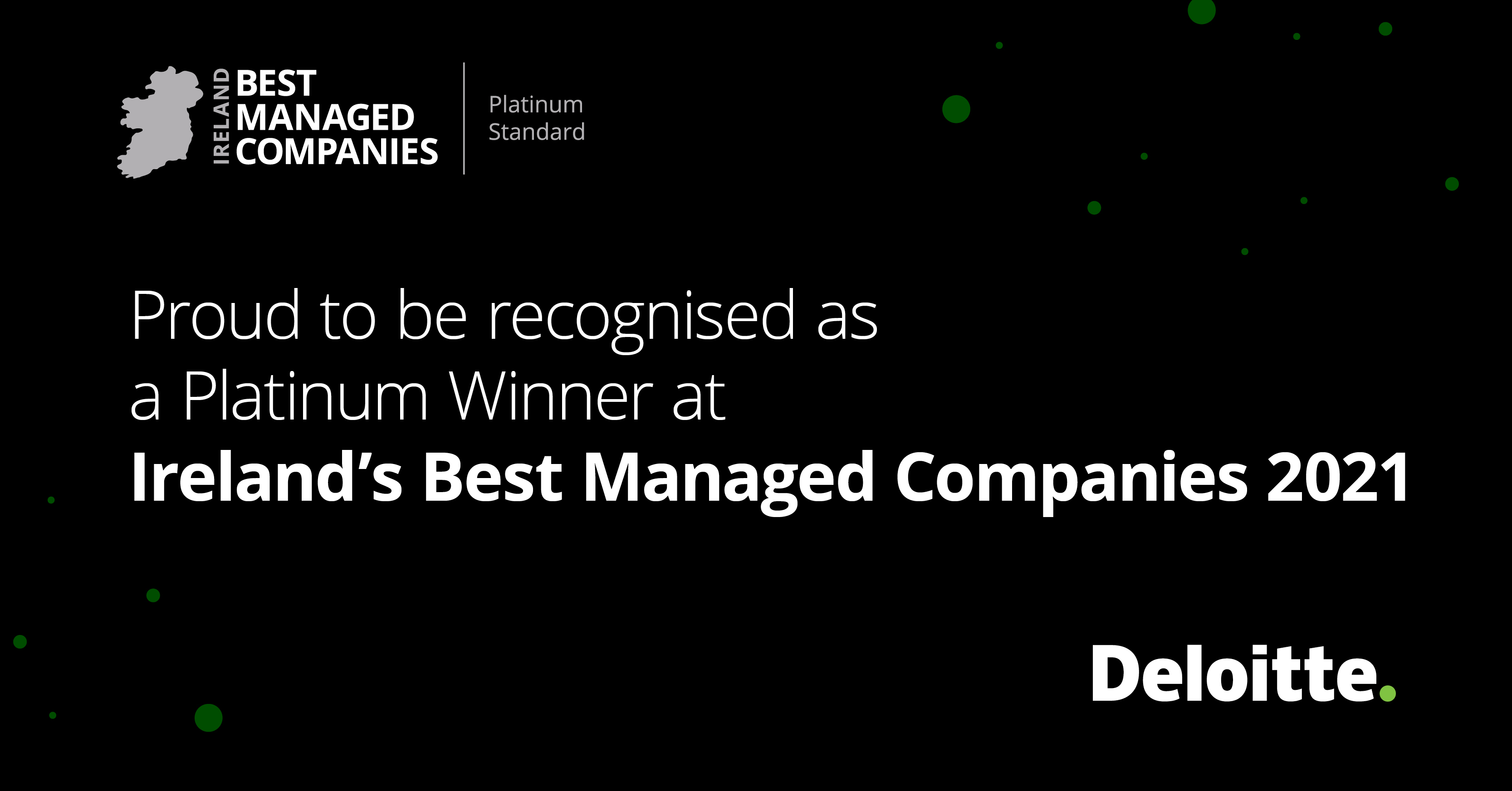 ByrneLooby announced as a Platinum Deloitte Best Managed Company 2021