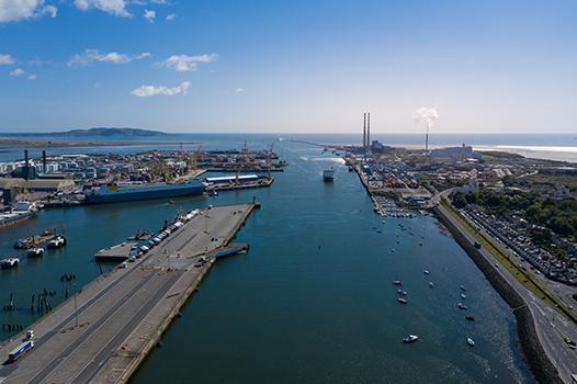 Brexit Works at Dublin Port