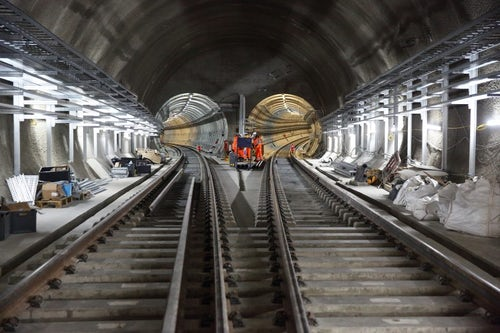 Crossrail Eastern Running Tunnels