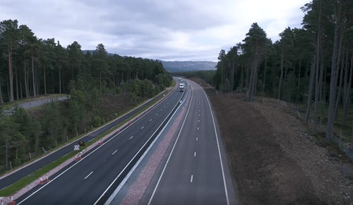 A9 Kincraig to Dalraddy