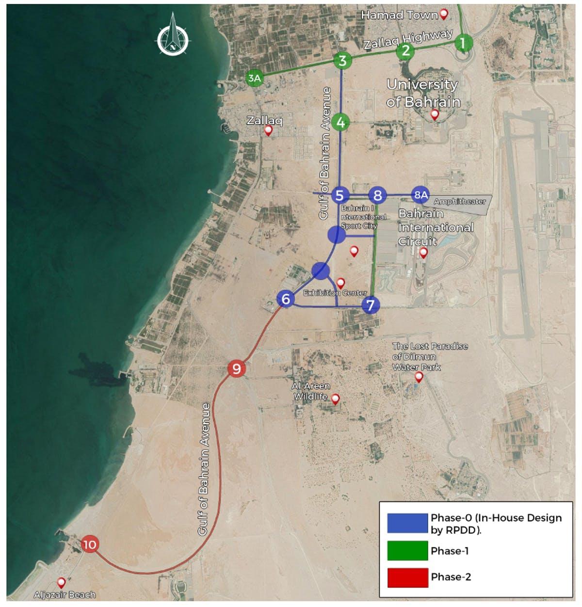 Bahrain International Sports City: Access Roads Upgrade