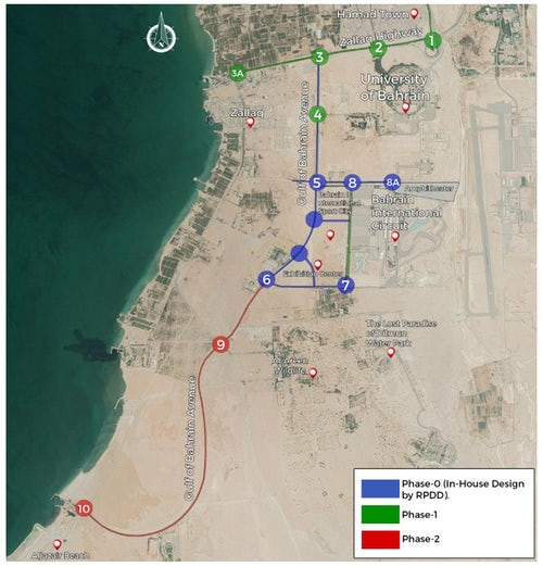 Bahrain International Sports City: Access Roads Upgrade