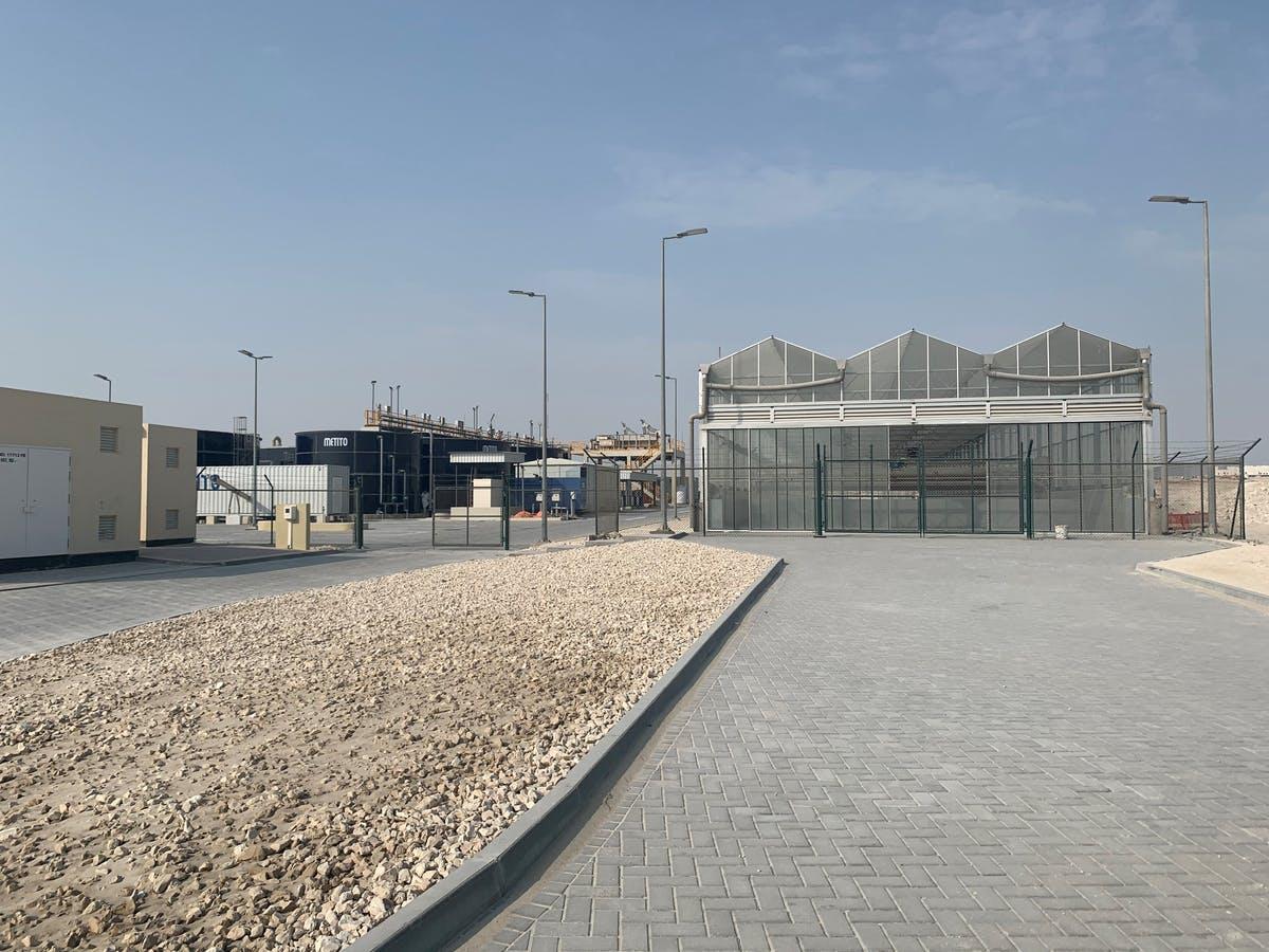 Khalifa City Sewage Treatment Plant EIA