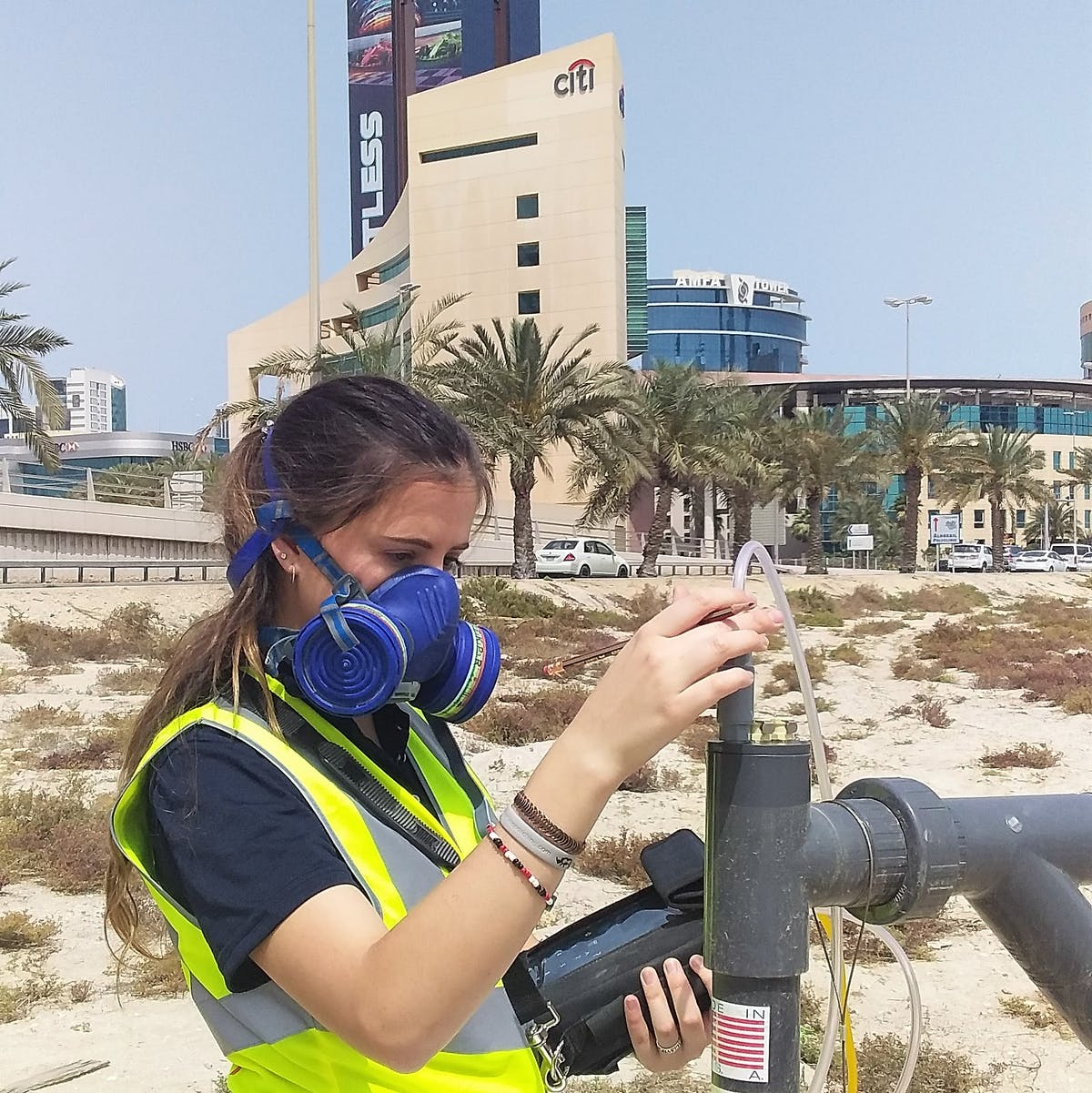 Gas Monitoring at Proposed UAE Embassy Site