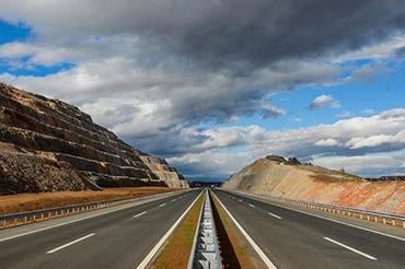 Route 7 Motorway in Kosovo