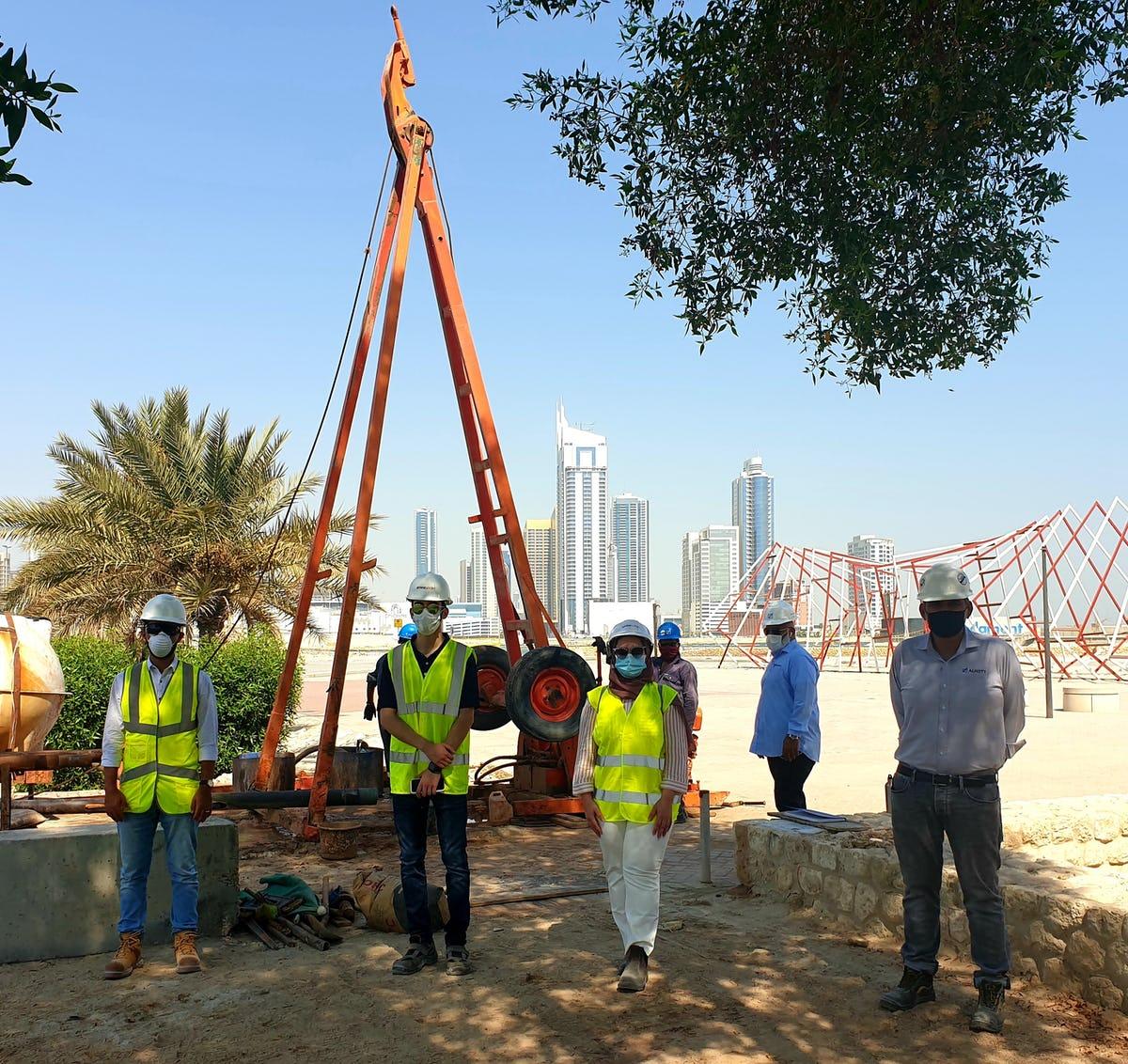 ByrneLooby Bahrain Site Visit