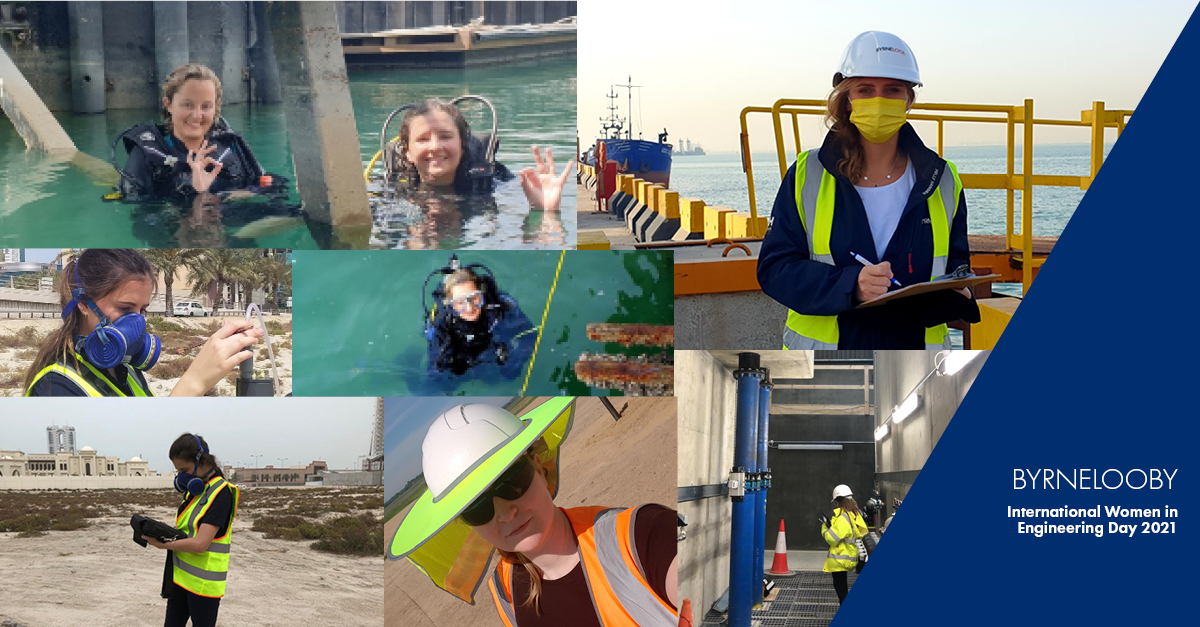 BYRNELOOBY ARE PROUD TO CELEBRATE INTERNATIONAL WOMEN IN ENGINEERING DAY