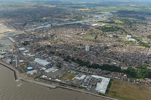 Suffolk town of Lowestoft