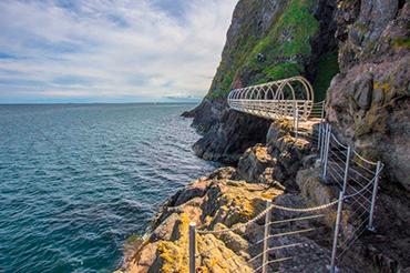 The Gobbins Cliff Path Walkway