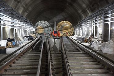 Crossrail Eastern Running Tunnels