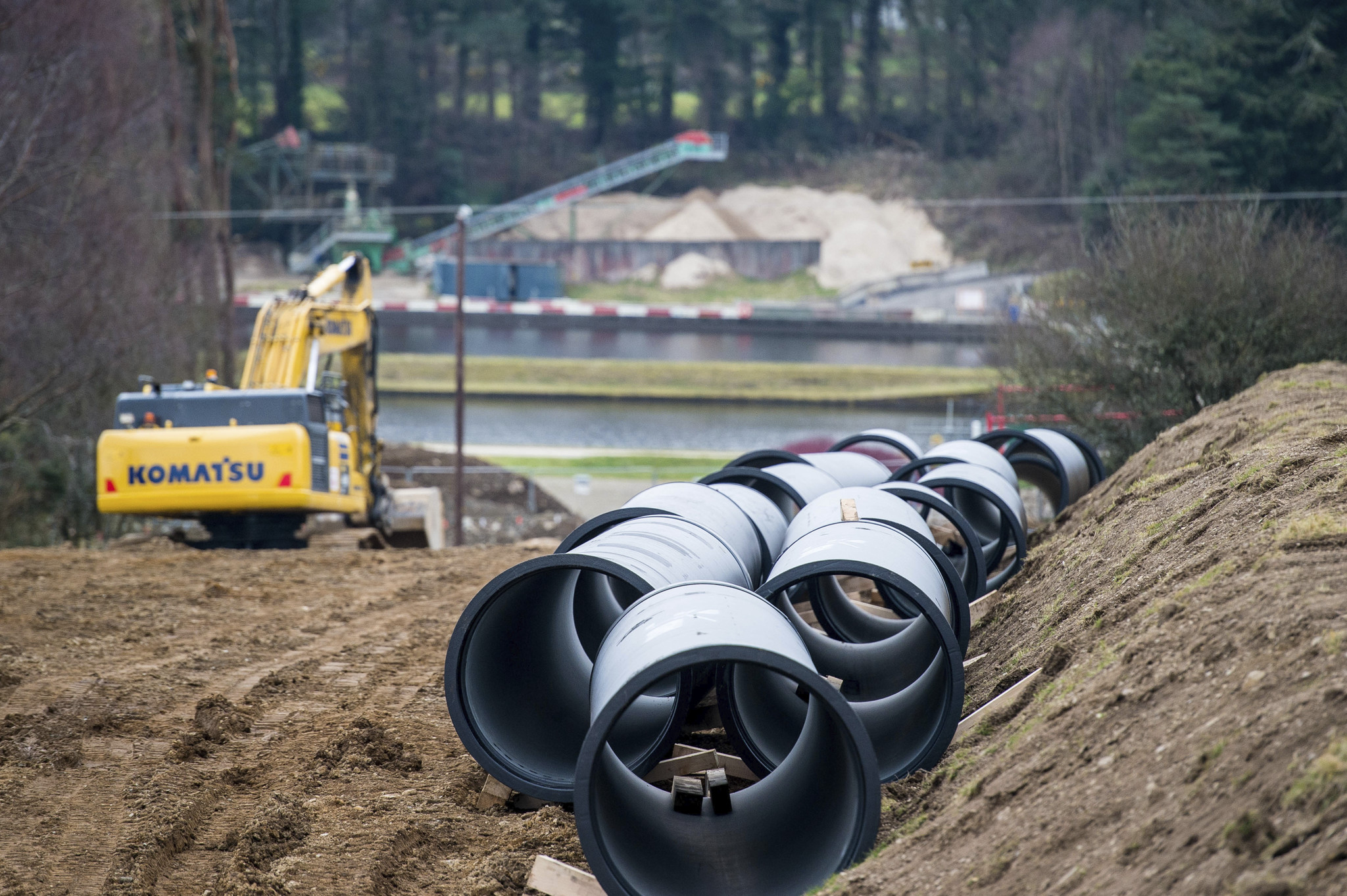 Vartry to Callowhill Pipeline (Water Supply)