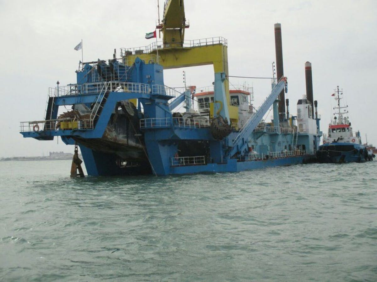 East Sitra Dredging