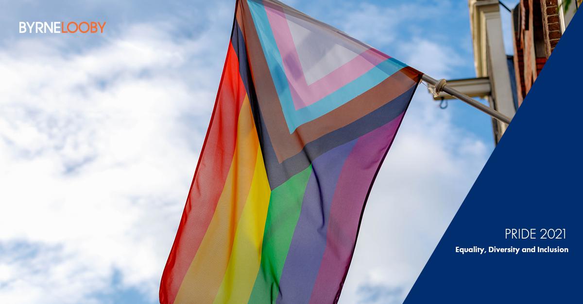BYRNELOOBY CELEBRATE LGBTQ+ PRIDE 2021