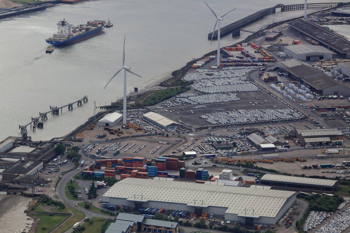 Purfleet Thames Terminal – Car Deck